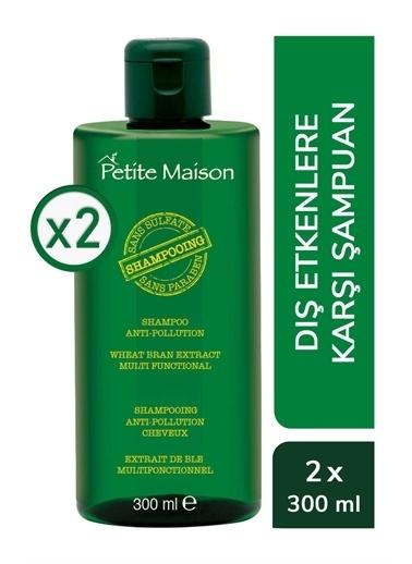 Petite Masion 2.6.1.31090 Petite Maison Dış Etkenlere Karşı 2'li Şampuan Seti PETITE MAISON Renksiz